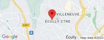 Carte Ecole Centrale de Lyon - Petit Paumé