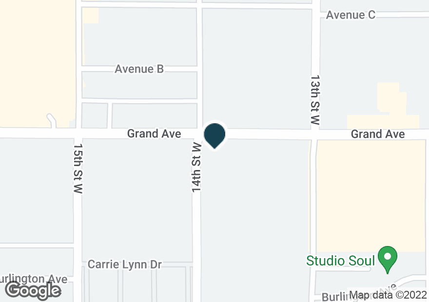 Google Map of1330 GRAND AVE