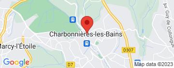 Carte Le Beaulieu - Petit Paumé
