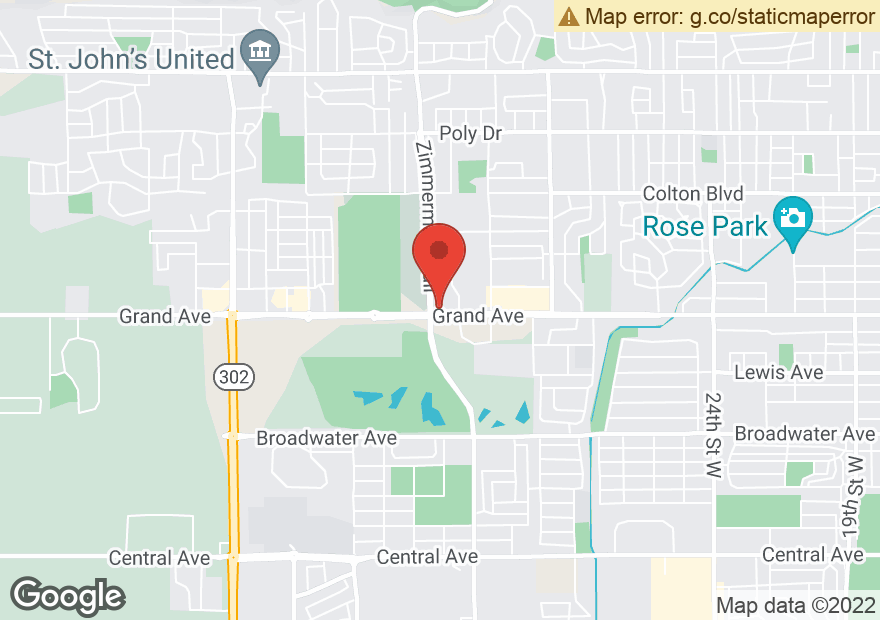 Google Map of 3333 GRAND AVE