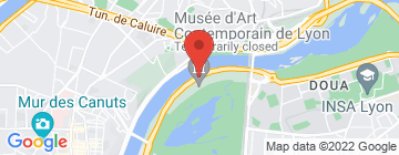 Carte Résidence hôtelière Temporim Lyon (cité internationale) - Petit Paumé