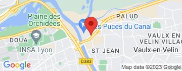 Carte Exalto Park Villeurbanne - Petit Paumé