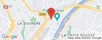 Carte La Terrasse de Rochecardon - Petit Paumé