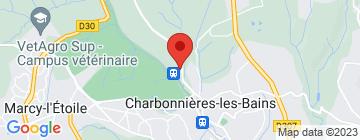 Carte Juste pour Lyon - Petit Paumé