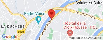 Carte Hôtel Lyon Métropole - Petit Paumé