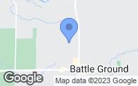 Map of Battle Ground, WA