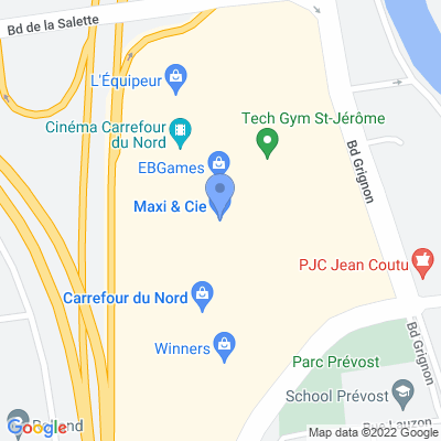 Prestige Barber Lounge - Saint-Jérôme Map