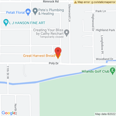Highwood Dry Cleaners on Map (907 Poly Dr, Billings, MT 59102) Map