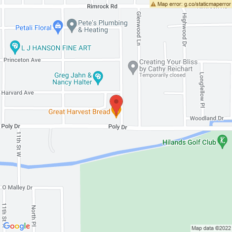 Highwood Dry Cleaners @ Billings - Location Map