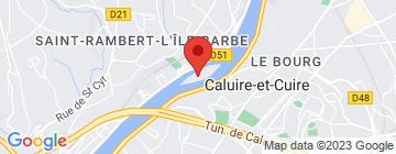 Carte Auberge de l'Île Barbe - Petit Paumé