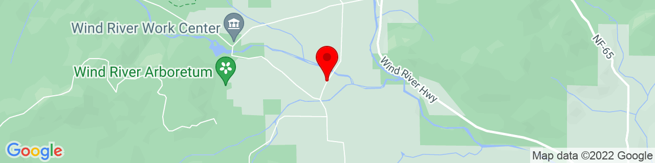 Google Map of 45.7985417, -121.9167194