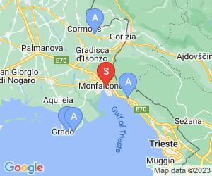 Karte für Italia