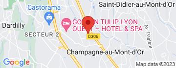 Carte Cave Guyot - Allée des vins - Champagne au Mont d'or - Petit Paumé