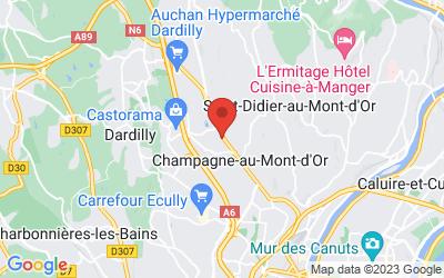 23 Avenue Général de Gaulle – RN 6, 69410 Champagne-au-Mont-d'Or