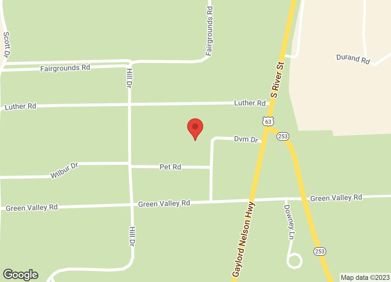Google Map of VCA Spooner Veterinary Hospital