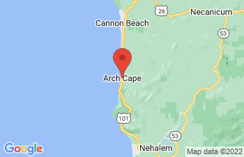 Map of Arch Cape