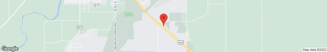 Map of 2265 Hwy 395 S in Hermiston