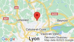 Carte de localisation du centre de contrôle technique FONTAINES SUR SAONE