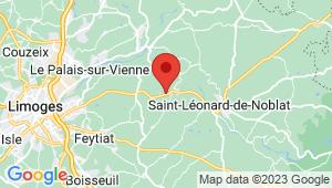 Carte de localisation du centre de contrôle technique ROYERES