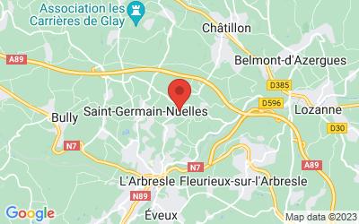 1710, route de Châtillon 69210 Nuelles