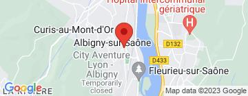 Carte La Table d'Albigny - Petit Paumé