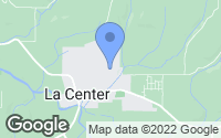 Map of La Center, WA