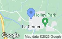 Map of La Center, WA