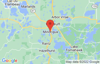 Map of Minocqua