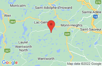 Map of Wentworth-Nord