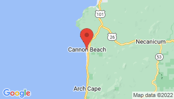 Map of Cannon Beach