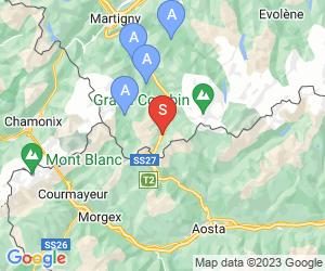 Karte für Super Saint Bernard