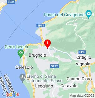 Google Map of 45.903231, 8.624386