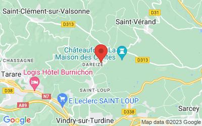 824, route du Beaujolais 69490 Dareizé