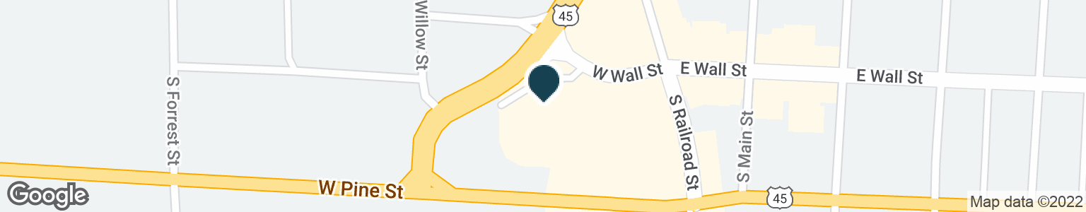 Google Map of108 W WALL ST