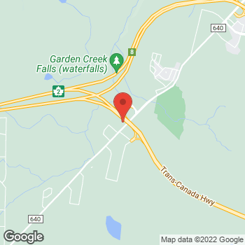 Map of Burger King at 1735 Hanwell Rd, Hanwell, NB E3C 2B9