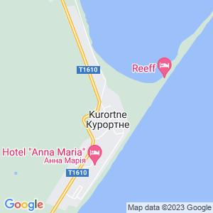 Карта города Курортного