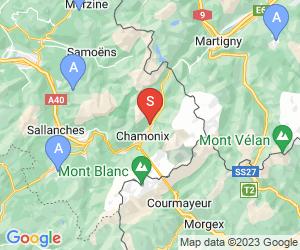 Karte für Golf de Chamonix
