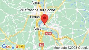 Carte de localisation du centre de contrôle technique TREVOUX