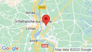Carte de localisation du centre de contrôle technique FRANS