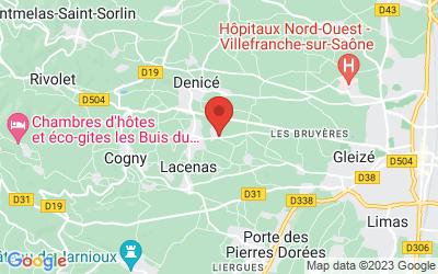 795 Route du Champ de la Croix, 69640 Denicé, France