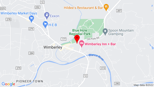 Google Map of 450 Old Kyle Road, Wimberley, TX 78676