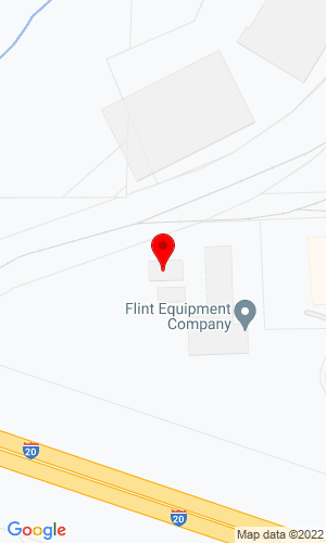 Google Map of Flint Equipment Company 4500 Wendell Drive SW, Atlanta, GA, 30336