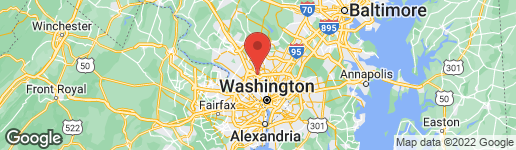 Map of 4501 SAUL ROAD KENSINGTON, MD 20895