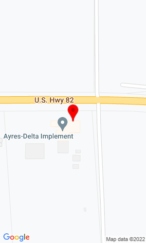 Google Map of Ayres-Delta Implement, Inc. 4507 Highway 82 West, Leland, MS, 38756