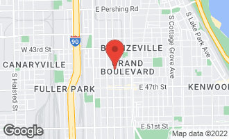 Map of 4507 South Indiana Avenue CHICAGO, IL 60653