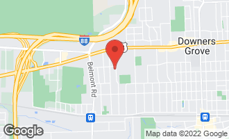 Map of 4508 Stonewall Avenue DOWNERS GROVE, IL 60515