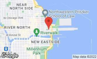 Map of 451 East Grand Avenue #5910 CHICAGO, IL 60611