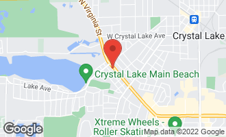 Map of 451 West Virginia Street CRYSTAL LAKE, IL 60014