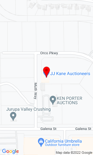 Google Map of Ken Porter Auctions 4510 Muth Way, Jurupa Valley, CA, 92509