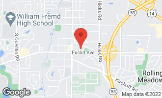 Map of 4512 Kings Walk Drive 2C ROLLING MEADOWS, IL 60008